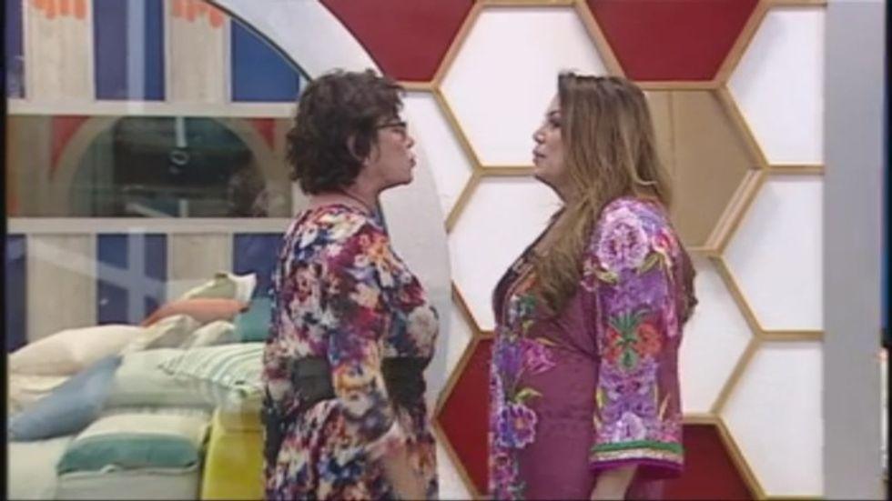 Corinne Clery e Serena Grandi Grande Fratello Vip 2