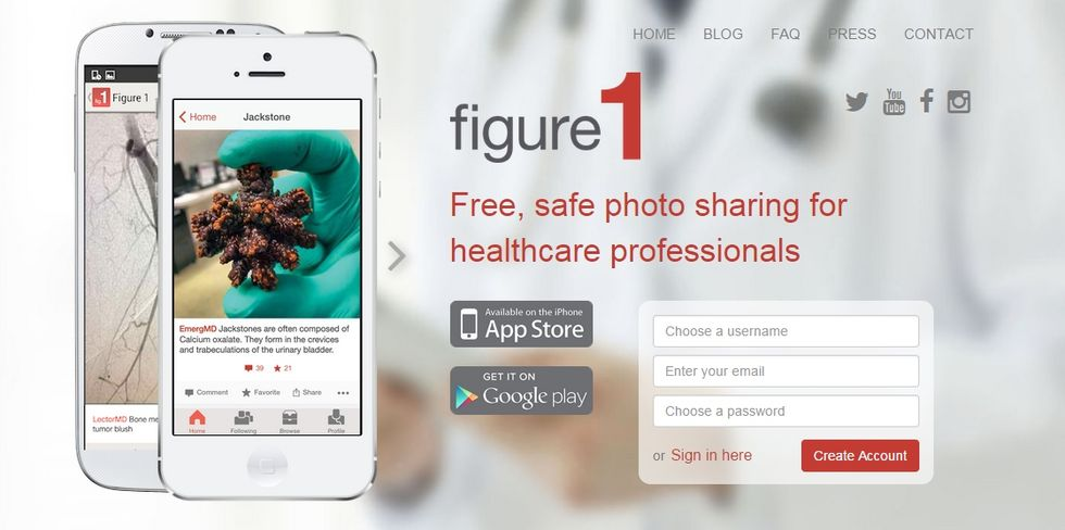 Figure1, un instagram per combattere ebola