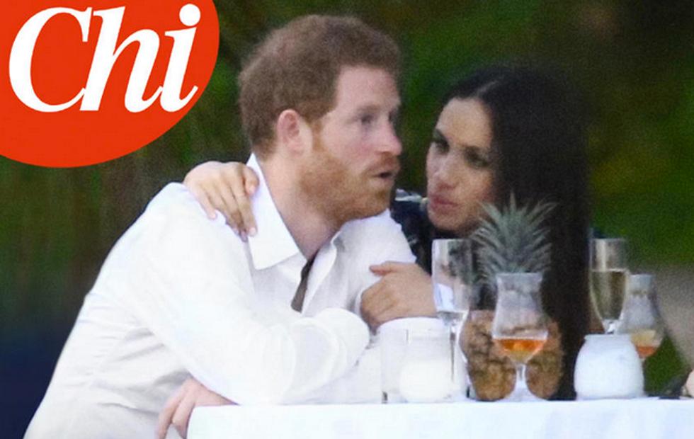 Principe Harry in Giamaica con Meghan Markle