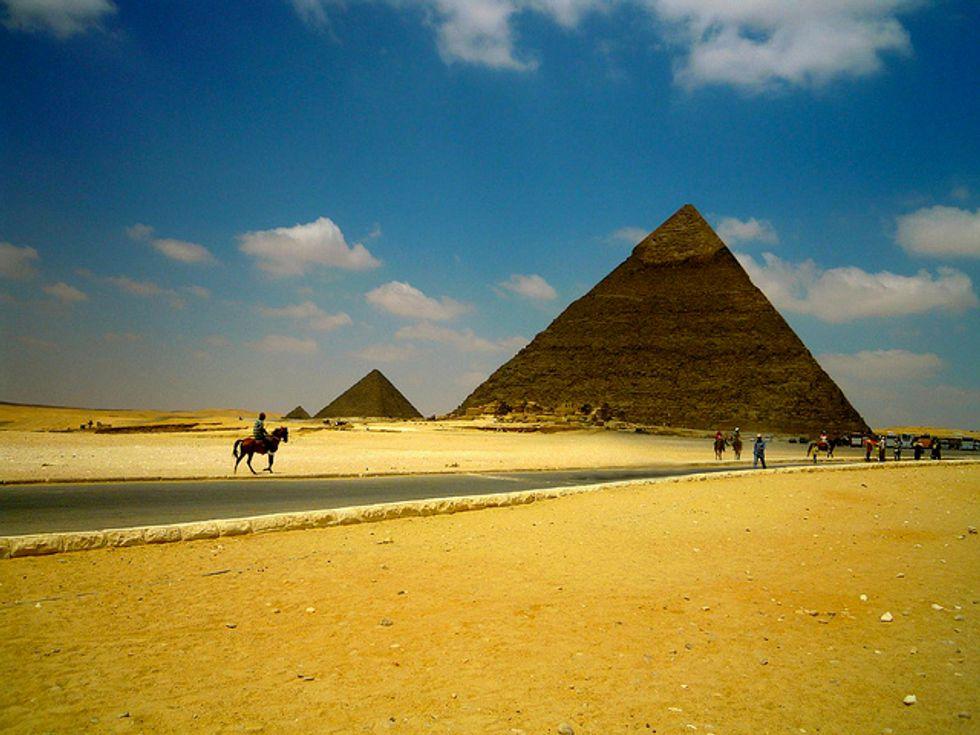 Il crollo del turismo in Egitto