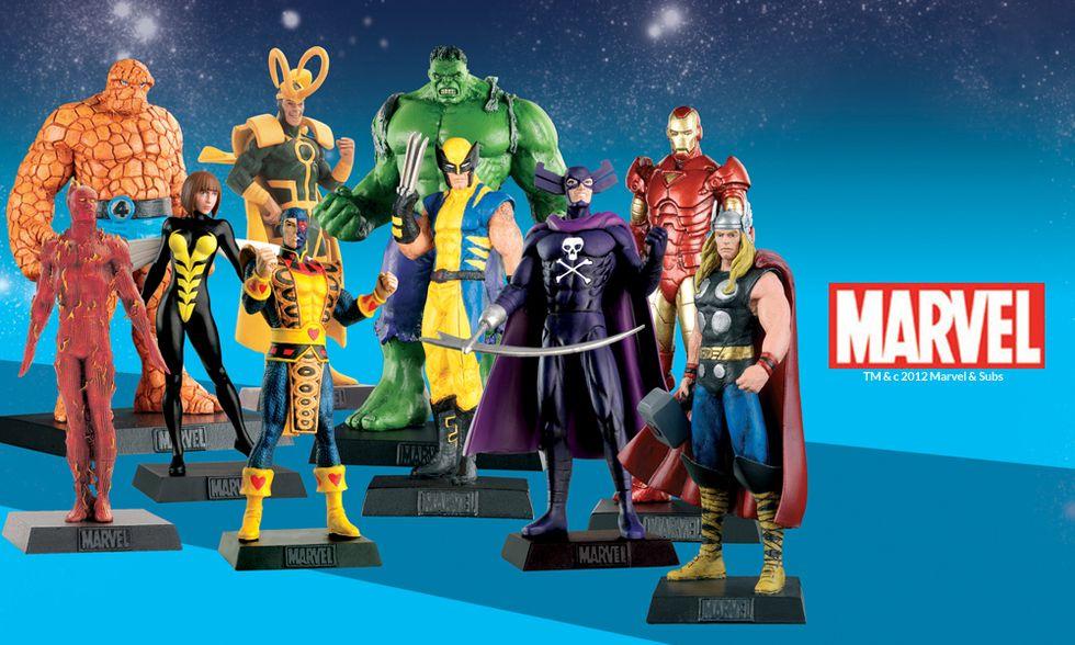 Supereroi Marvel, la collezione completa solo con Panorama