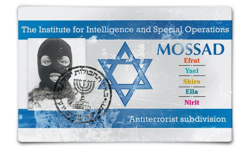 Le donne del Mossad