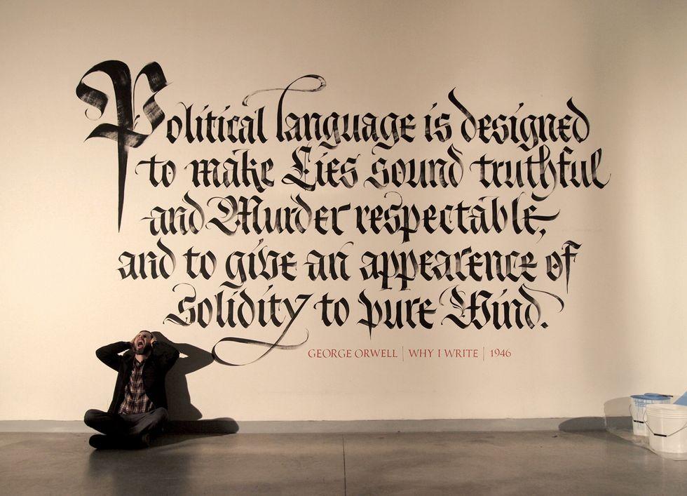 Calligrafia, il lusso di scrivere a mano: Flair incontra Luca Barcellona