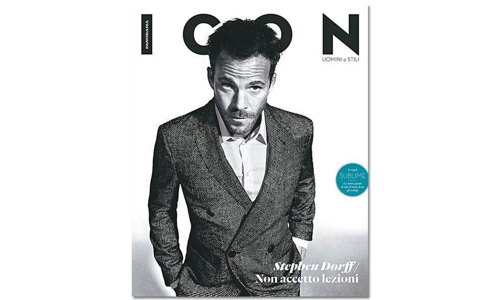 Stephen Dorff: sono il nuovo bad boy di Hollywood. Il nuovo Icon è in edicola