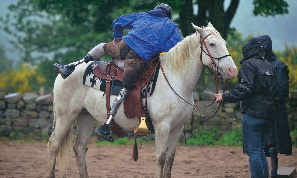 Qui i cavalli sussurrano ai reduci