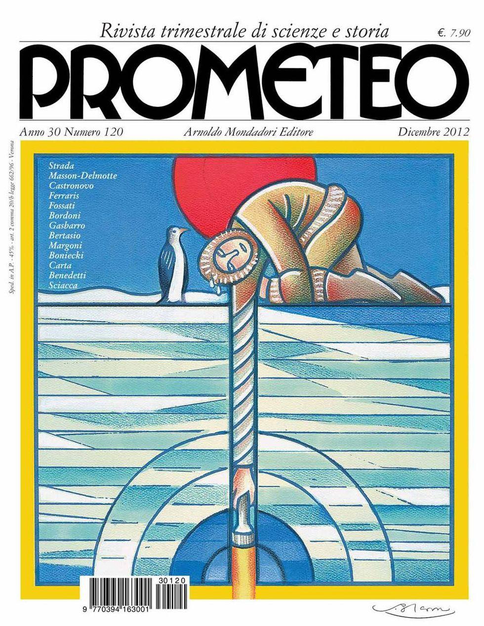 Prometeo, è in edicola il numero di dicembre 2012