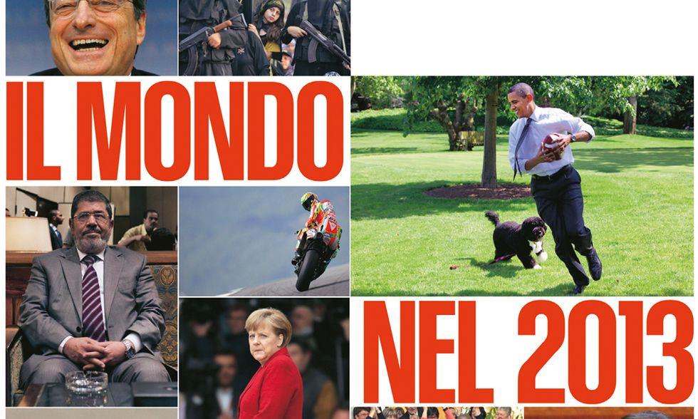 Tutto l'anno minuto per minuto, l'annuario di Panorama per il 2013. Leggilo online