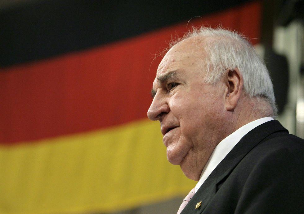 Addio a Helmut Kohl, primo cancelliere della Germania unita