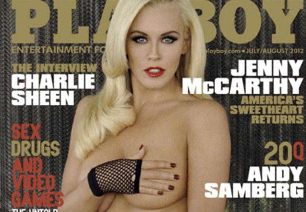 Jenny McCarthy nuda sulla copertina di Playboy a 39 anni