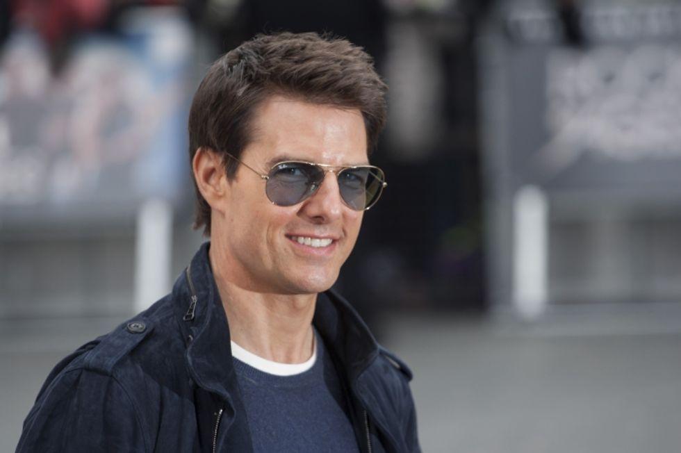 Tom Cruise, Katie Holmes... e David Miscavige