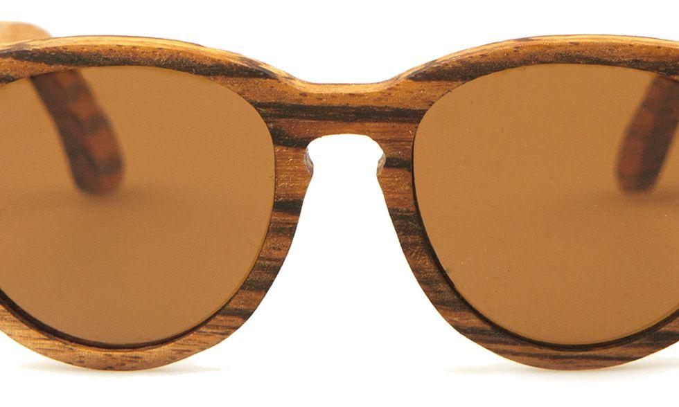 Ecovisioni: occhiali da sole, sì, ma green, con montatura in legno naturale