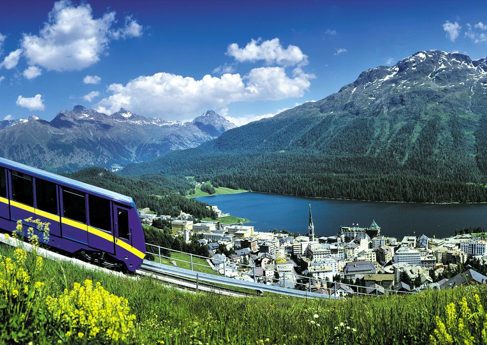 St. Moritz, d'estate tutta da gustare
