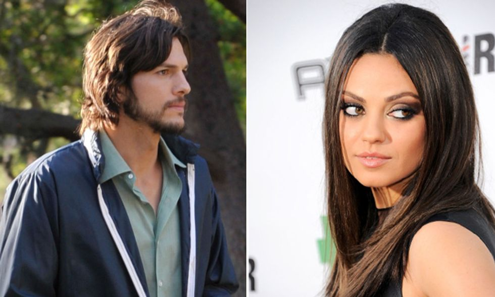 Ashton Kutcher e Mila Kunis fidanzati in casa?