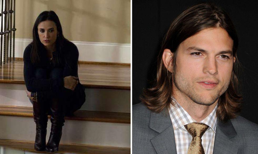 Demi Moore disperata per Ashton Kutcher