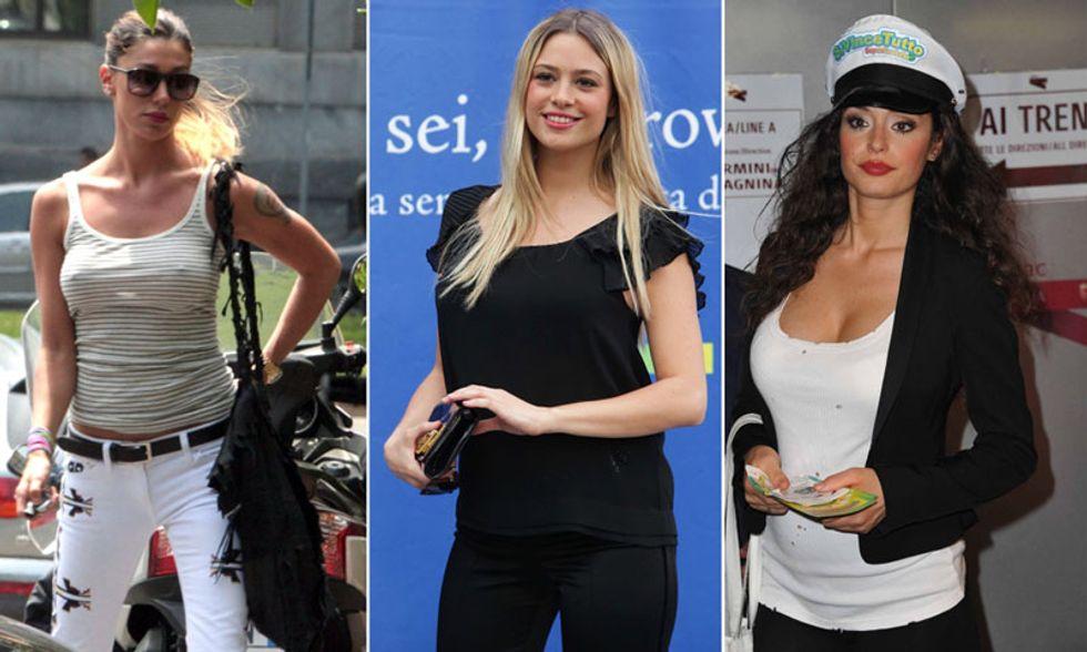 Belen, Martina Stella e Raffaella Fico: mamme per scelta?