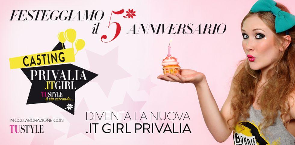 Privalia festeggia gli anni cercando la sua It Girl