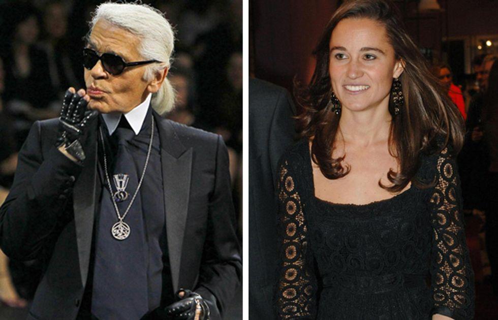 Karl Lagerfeld attacca Pippa Middleton