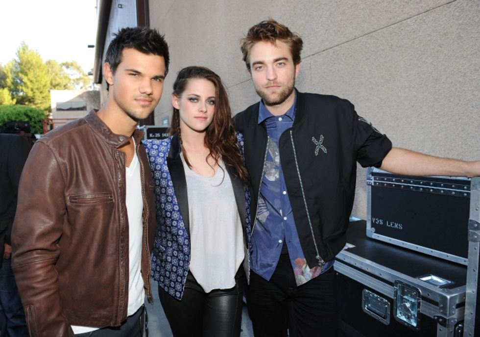 Pattinson e Stewart vampiri fantasma alla Twilight Convention