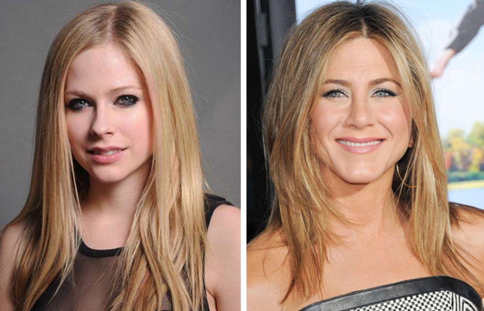 Avril Lavigne e Jennifer Aniston: le nozze numero 2 sono quelle giuste