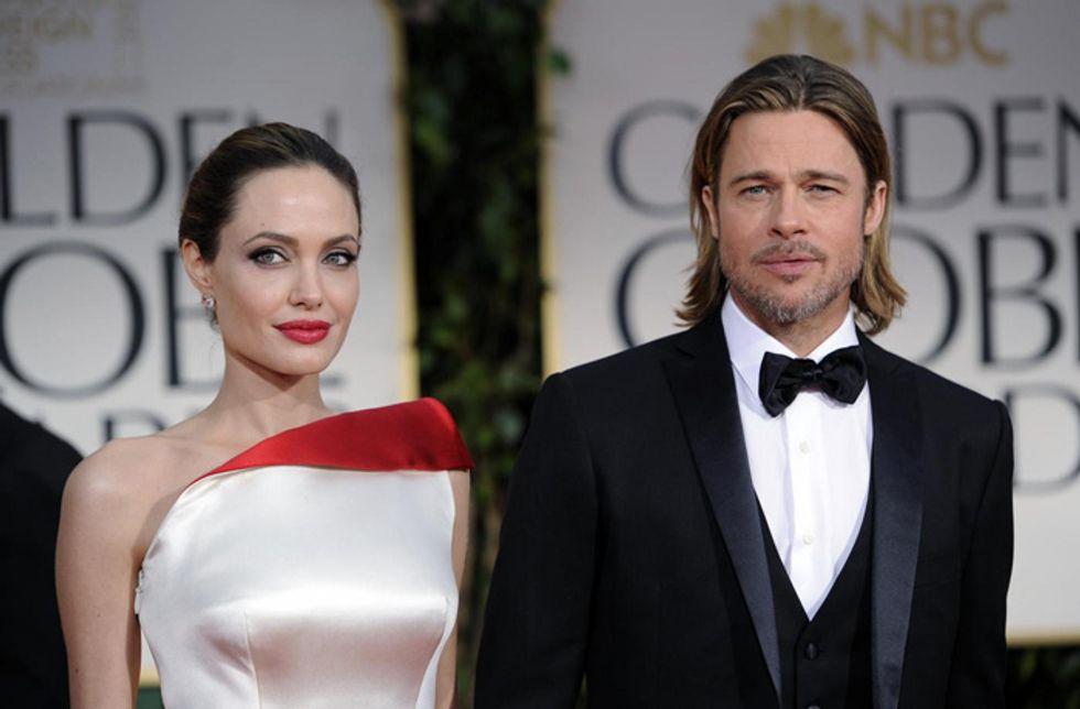 Brad Pitt: il regalo di nozze per Angelina Jolie è un poligono di tiro