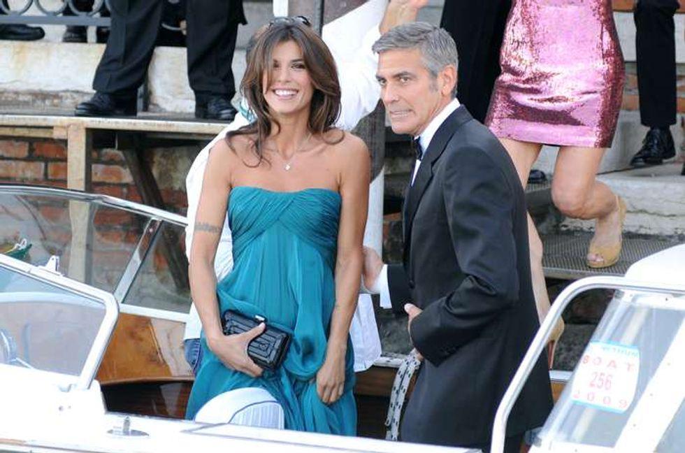"Elisabetta Canalis al Festival del cinema di Venezia: ""Clooney? Non ho rimpianti"""