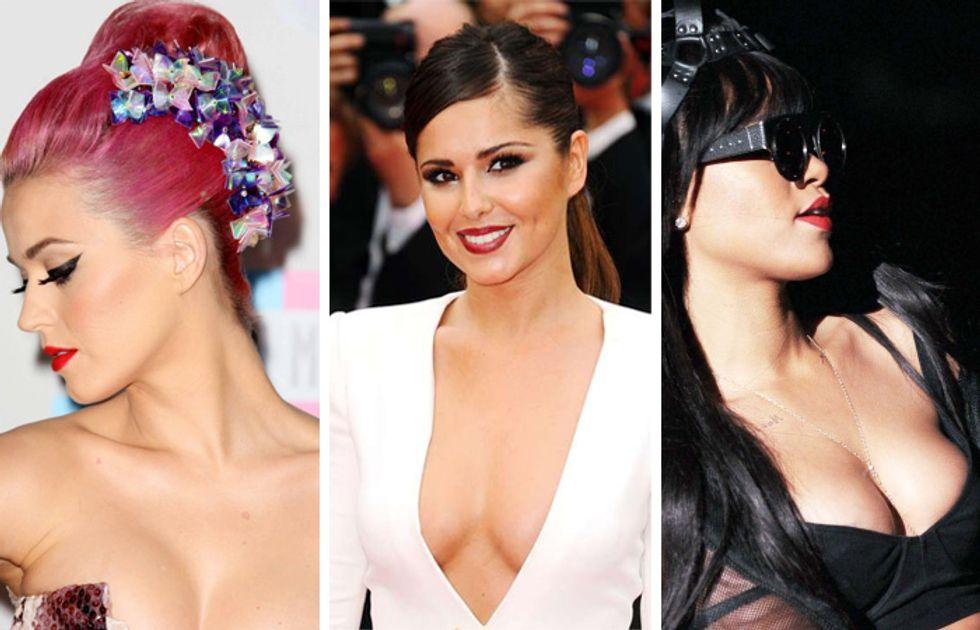 Katy Perry ha una sbandata sexy per Cheryl Cole, che fa sogni erotici su Rihanna: ecco le lesbo-cotte delle star