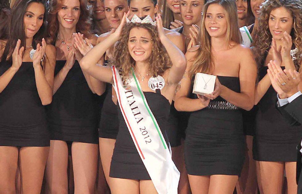 Miss Italia 2012, la vincitrice è Giusy Buscemi