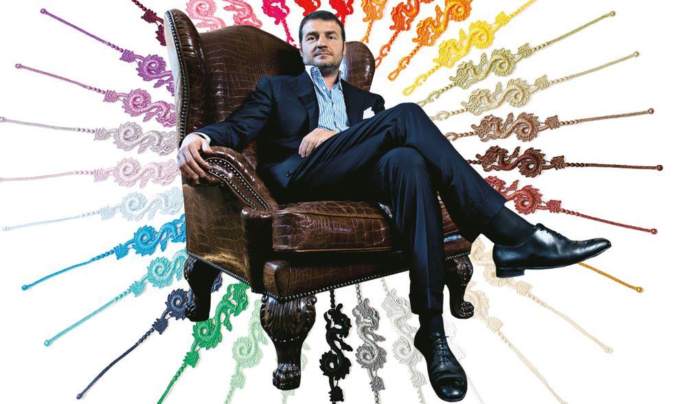 Luca Caprai. Un uomo di polso, anzi di braccialetto