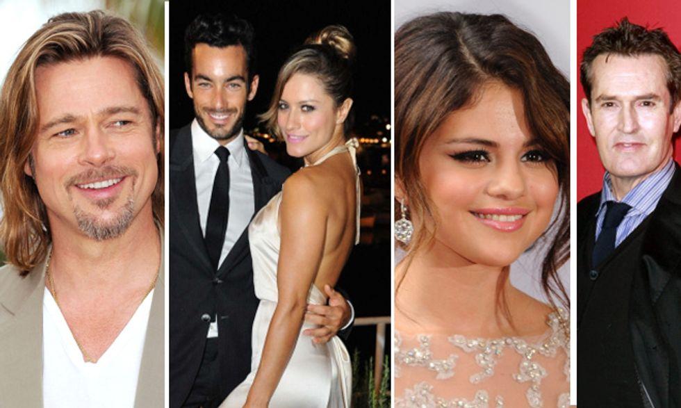 Brad Pitt papà felice, Lola Ponce incinta, Justin Bibier e la fidanzata 'hot', Rupert Everett gay controcorrente