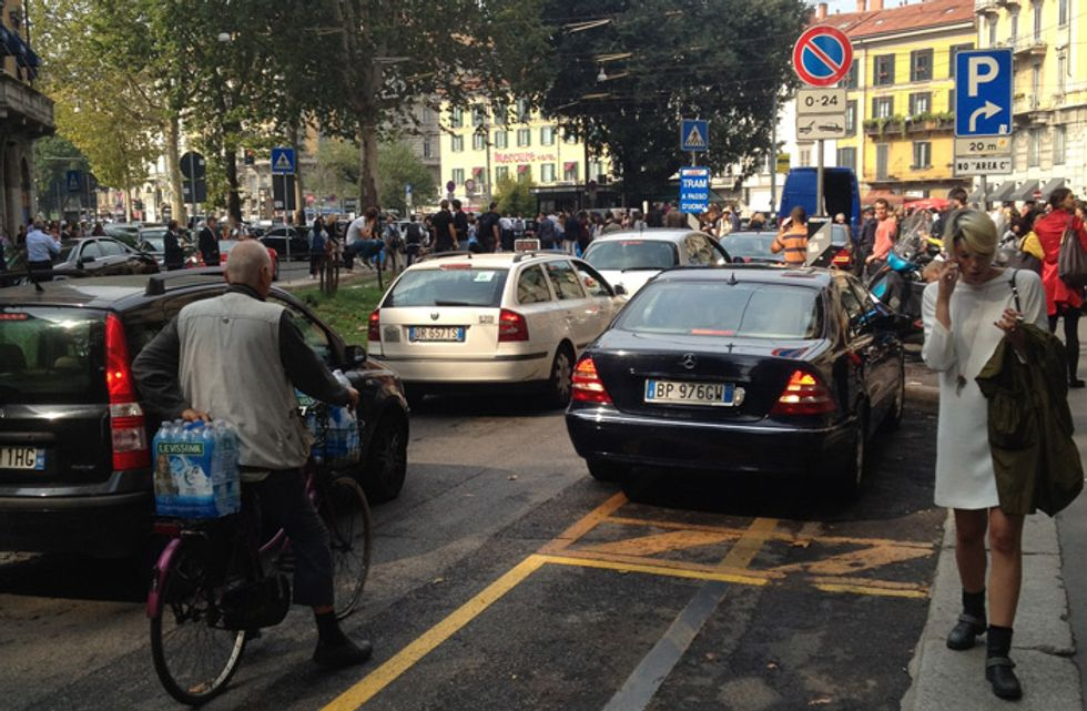 Milano Fashion week, il diario del driver/day1