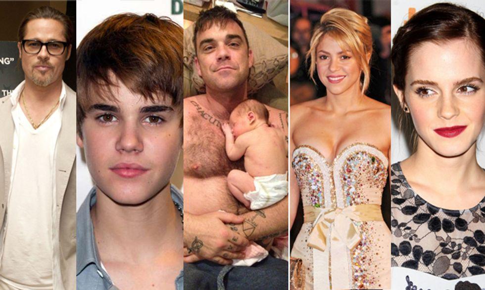 Da Robbie Williams papà a Shakira mamma. La vita dei vip nel mirino