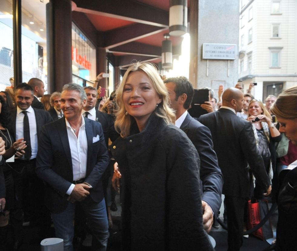 Milano fashion week, tra Kate Moss e Sharon Stone spunta Arisa