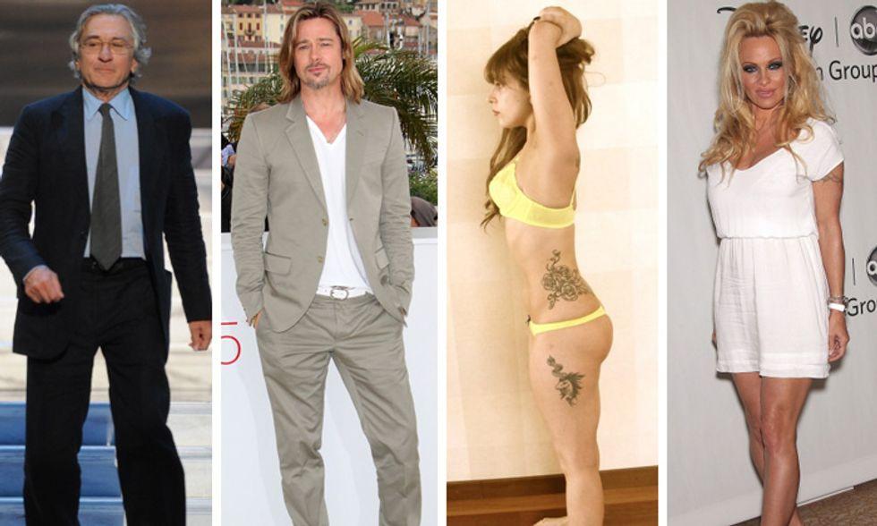 Brad Pitt e la cena di Natale, Lady Gaga e le sue curve