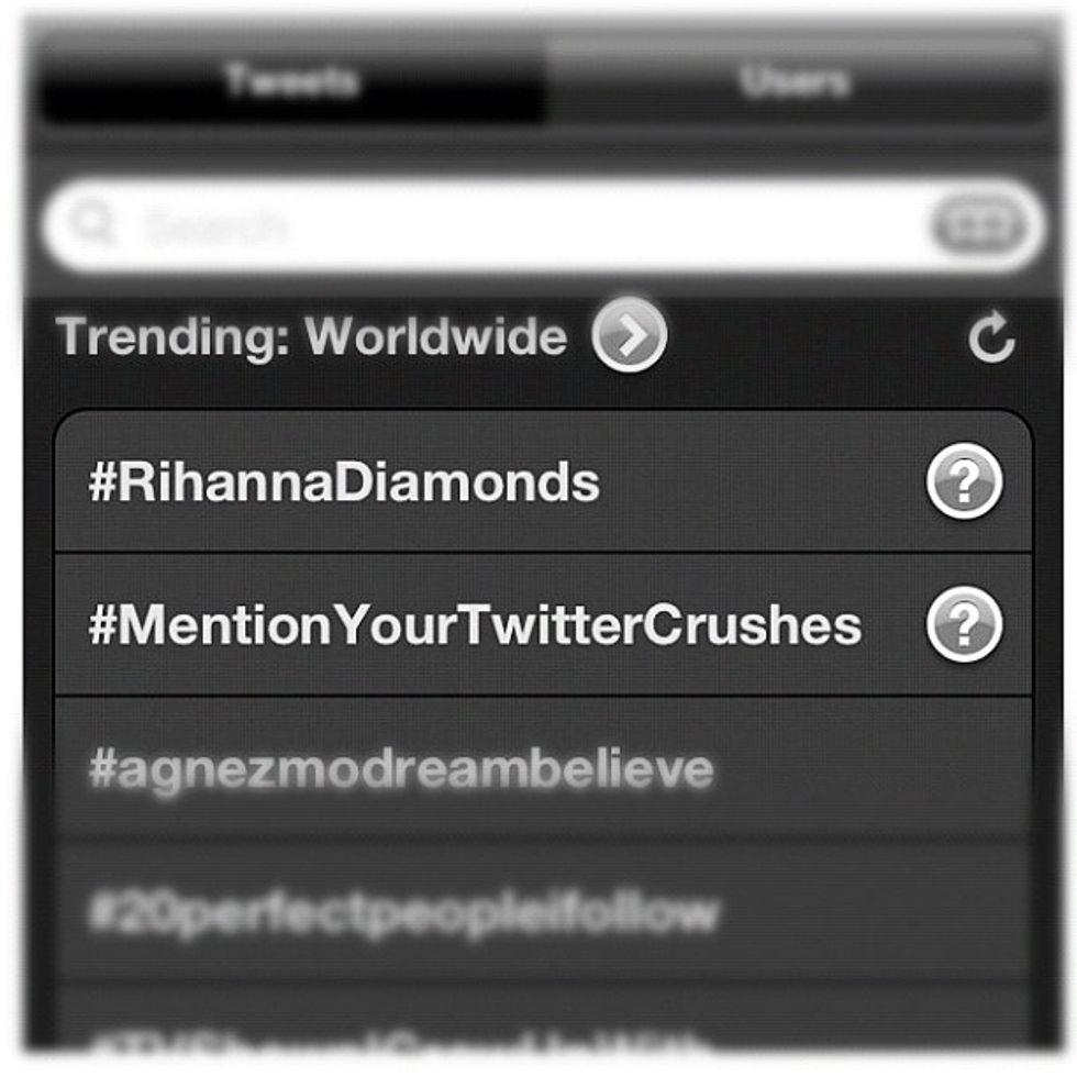 Tutti pazzi per #Rihanna