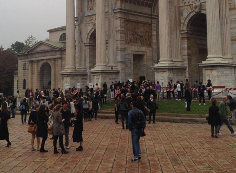 Milano Fashion week: il diario del driver/the end