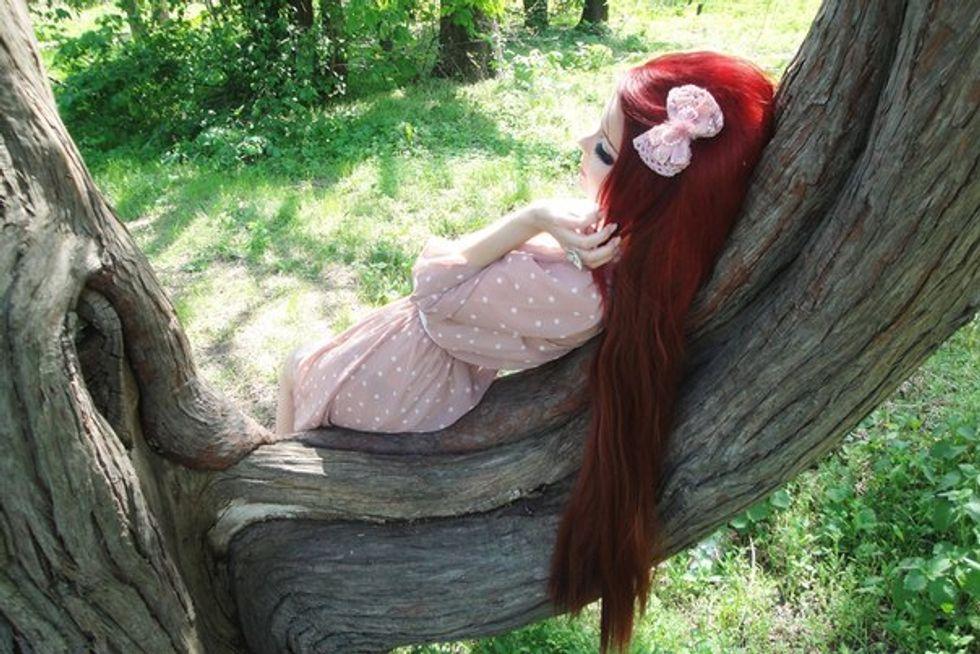 Anastasiya, la ragazza diventata un personaggio dei manga