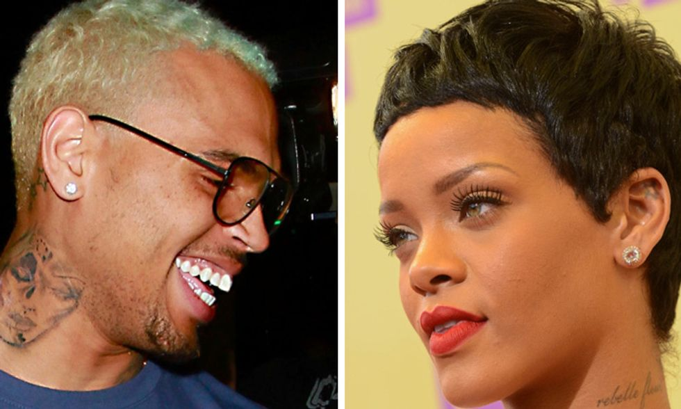 Rihanna e Chris Brown, la fotostoria