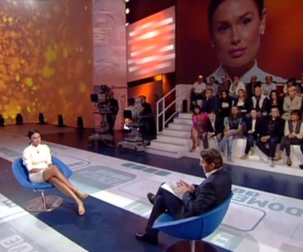 Domenica in e Domenica live, la tv generalista si sfida a colpi di credibilità. E Vinci fa il botto con la Minetti
