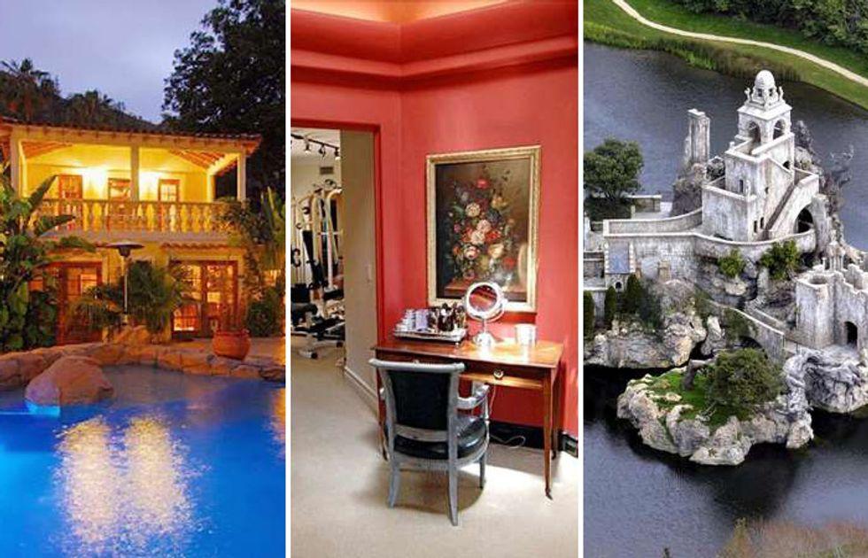 Le case dei Vip, da Angelina Jolie a Fico/Balotelli, dai Beckham a Paris Hilton
