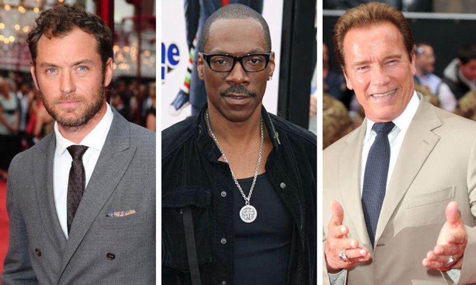 I figli illegittimi delle star. Jude Law, Eddie Murphy, Arnold Schwarzenegger e compagnia: cosa succede quando i nodi vengono al pettine