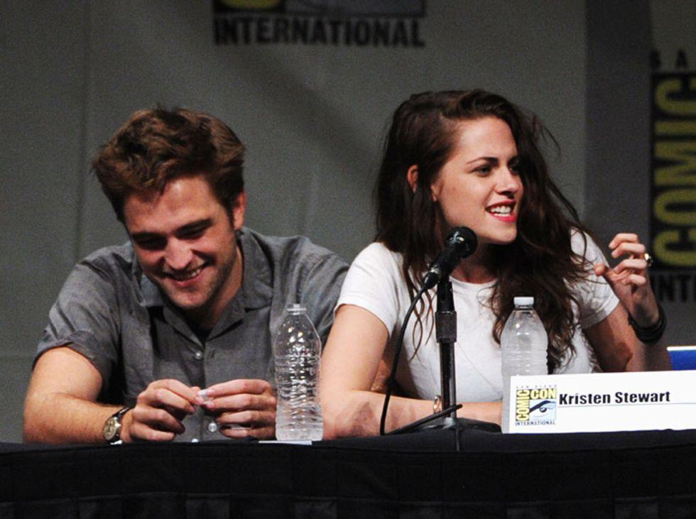 Kristen Stewart e Robert Pattinson insieme: ecco la foto