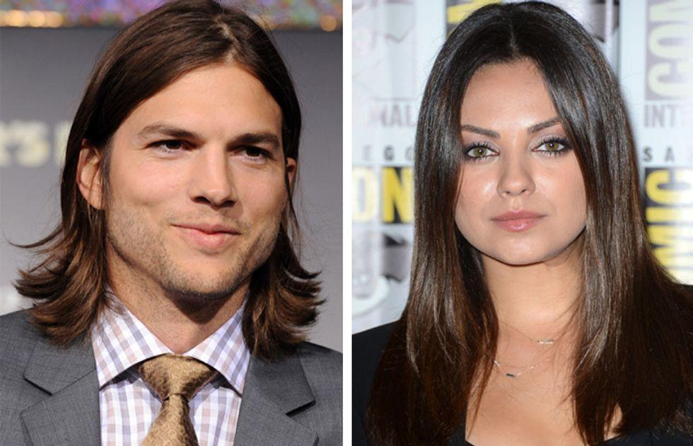 Mila Kunis e Ashton Kutcher coppia d'oro