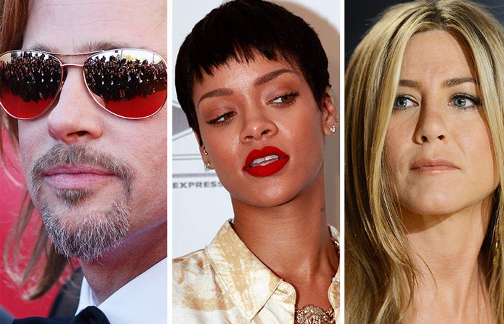 Brad Pitt, Rihanna, Madonna e Jennifer Aniston: i segreti di bellezza delle star