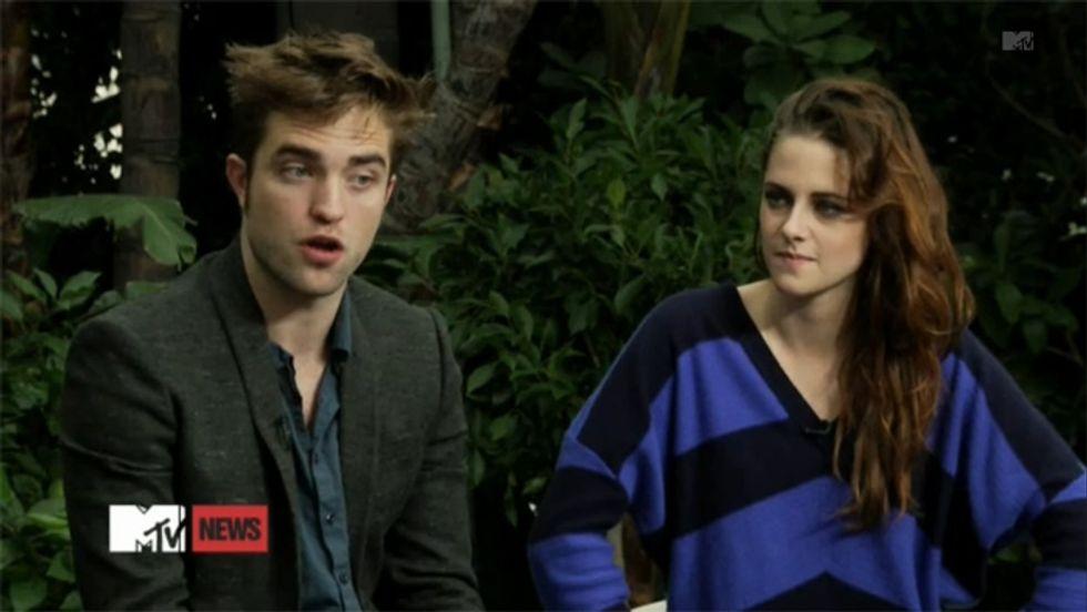 Kristen Stewart e Robert Pattinson, buona la prima uscita pubblica su Mtv