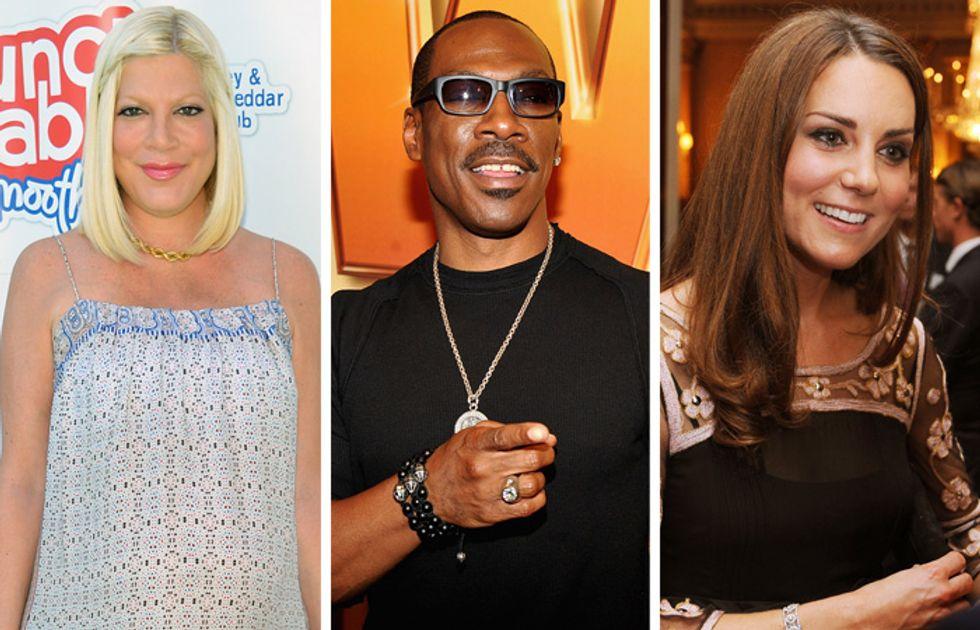 Tori Spelling sposa, Eddie Murphy morto, Kate Middleton incinta: tutto falso