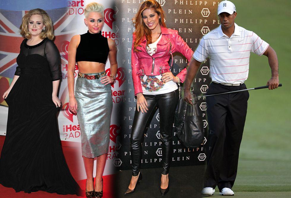 Aida Yespica lasciata per un tradimento, mentre Miley Cyrus viene corteggiata dal mondo dell'hard