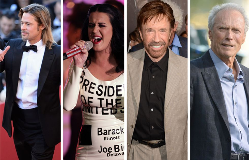 Presidenziali USA, anche le star scendono in campo
