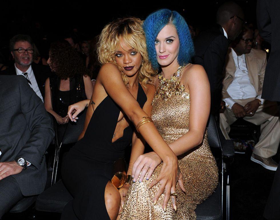 Rihanna e Katy Perry: amicizia in bilico per colpa di Chris Brown