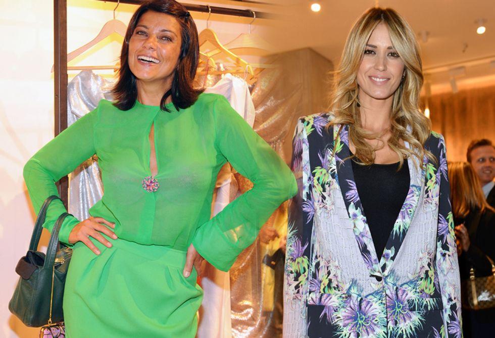 Chi lavora più dell'altra? La battaglia tra Ana Laura Ribas ed Elena Santarelli a colpi di Tweet