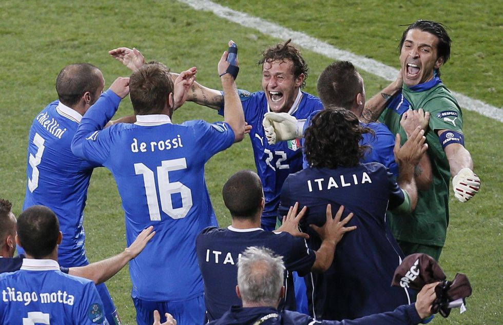 Italia-Germania: calma, paura, forza